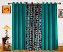 Dekor World Circle Bonanza With Solid Door Curtain - Pack Of 3 - CRNDXM38EZQZV2HC