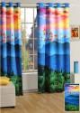 Swayam Digitally Printed Cosmo Fashion Window Curtain - CRNDUH4ARRFHK2SD