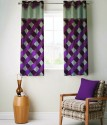 FABUTEX Jacquard Weave Curtain Window Curtain - CRNEYHP4QGCM83GT