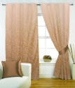 FABUTEX Jacquard Weave Curtain Window Curtain - CRNEYHP4SJGP73TS