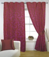 Fabutex 100% Polyester Door Curtain (210 Inch In Height) - CRNE3YJ6HHBU2ACF