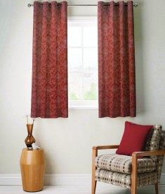 FABUTEX Jacquard Weave Curtain Window Curtain - CRNEYHP5GZMWD6SW