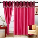 Cortina Fancy Crush Window Curtain - CRNDW2PZR75PHVGJ