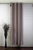 Jodhpur Polyester Pink, Beige Door Curtain 213.36 Cm In Height, Single Curtain
