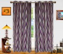 Dekor World Waves In The Air Door Curtain - Pack Of 2 - CRNDXM387FG7ZYWW
