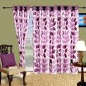 Cortina Flora Window Curtain - Pack Of 2 - CRNDYTKJNQTUAZCG