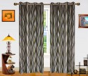 Dekor World Waves In The Air Door Curtain - Pack Of 2
