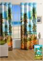 Swayam Digitally Printed Cosmo Fashion Door Curtain - CRNDUH4ABCNBUDCZ