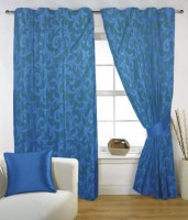Fabutex 100% Polyester Door Curtain (210 Inch In Height)