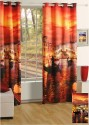 Swayam Digitally Printed Cosmo Fashion Door Curtain - CRNDUH4AHPZ7GFRC