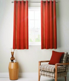 FABUTEX Jacquard Weave Curtain Window Curtain - CRNEYHP4ME6GTEMD