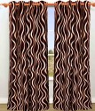 Hargunz 9 Feet Long Door Curtain - Pack Of 2