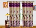 Dekor World Autam Leaf Panel Door Curtain - Pack Of 2 - CRNEY8FR9KAHQEBW
