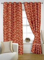 Story @ Home 100% Polyester Door Curtain (213.36 Inch In Height) - CRNDTKGMUKN5ZGGM