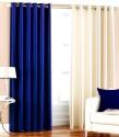 Hargunz Crush Long Door Curtain - Pack Of 2