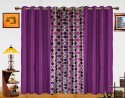 Dekor World Circle Bonanza With Solid Door Curtain - Pack Of 3 - CRNDXM38MX7HSGS8