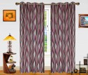 Dekor World Waves in the Air Window Curtain - Pack of 2 - CRNDXM38QYKGVNSG