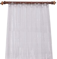 Joli PVC Transparent Plain Curtain Door Curtain 214 Cm In Height, Single Curtain