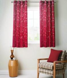 FABUTEX Jacquard Weave Curtain Window Curtain - CRNEYHP4SY5EYHQ6