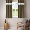 Fabutex Net Scallop Window Curtain