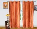 Dekor World Stripe Door Curtain - Pack Of 2