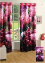 Swayam Digitally Printed Cosmo Fashion Window Curtain - CRNDUH4AMYGKSUB2