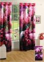 Swayam Digitally Printed Cosmo Fashion Window Curtain - CRNDUH4AMYGKSUB2