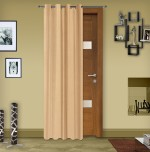 Story @ Home Story @ Home Silk Cream Solid Door Curtain