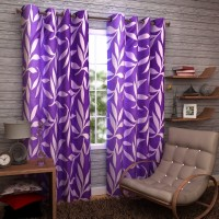 Enfin Homes 100% Polyester Door Curtain (Pack Of 2, 213 Inch In Height) - CRNE2U7YYRVH8MF8