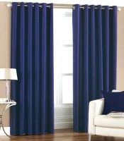 Hargunz Crush 9 Feet Door Curtain (Pack Of 2)