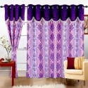 Cortina Print Drape Door Curtain - Pack Of 2 - CRNDXV33ZFKQ8TGZ