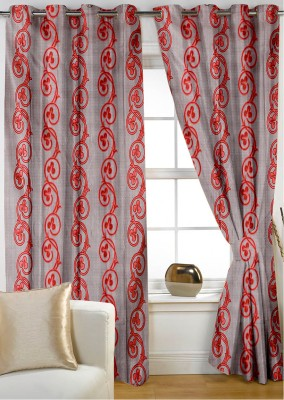 Story @ Home Retro Series Eyelet Door Curtain - CRNDWDG8GGJSEPFQ