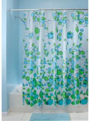 Buy Online InterDesign Polyester Ethylene Vinyl Acetate Green Blue Door Curtain At Lowest Price On Flipkart