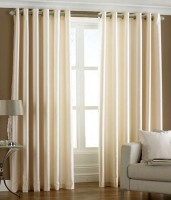 Hargunz Crush 7 Feet Door Curtain (Pack Of 2)