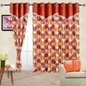 Cortina Flora Door Curtain - Pack Of 2 - CRNDYTKJZ3WSHZCG