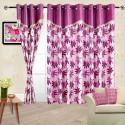 Cortina Flora Door Curtain - Pack Of 2 - CRNDYTKJP4SGYAFY