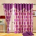 Cortina Flora Door Curtain - Pack Of 2 - CRNDYTKJ5MGX2FCC