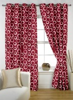 Story @ Home Polyester Multicolor Window Curtain 150 Cm In Height, Single Curtain