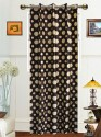 Dekor World Polka Dot Window Curtain