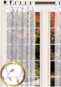 Fabutex D Decor Sheer Door Curtain