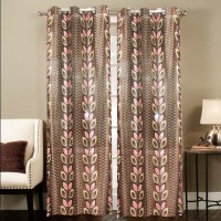 Smart Home Polyester Multicolor Door Curtain 210 Cm In Height, Single Curtain