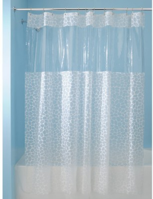 Buy Online InterDesign Polyester Ethylene Vinyl Acetate White Door Curtain At Lowest Price On Flipkart