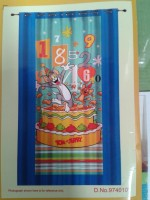 Portico New York Tom & Jerry Door Curtain