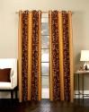 Shandar Rose Window & Door Curtain - Pack Of 2 - CRNDZYAZVKZ3GYGH