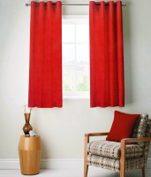 FABUTEX Heavy Velvety Curtain Window Curtain