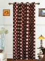 Dekor World Polka Dot Door Curtain