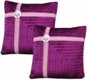 Dekor World Floral Lace Bonaza Collection Cushions Cover - Pack Of 2 - CPCDWYYRBWXYB28B