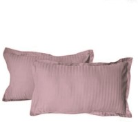 Hothaat Striped Pillows Cover Pack Of 2, 30 Cm*20 Cm, Lavender