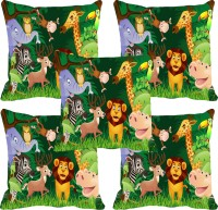 meSleep Jungle Digitally Printed Cushions Cover: Cushion Pillow Cover