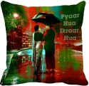 MeSleep Pyaar Hua Digitally Printed Cushions Cover - Pack Of 1
